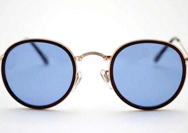 Óculos Solar 3448 C3 (Lentes translúcida azul)