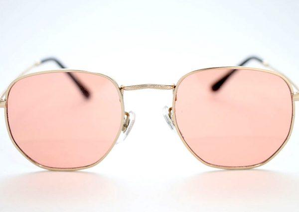 Óculos Solar 3548 (Lente translúcida rosê)