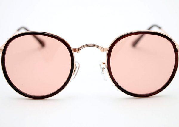 Óculos Solar 3448 C1 (Lentes translúcida rosê)