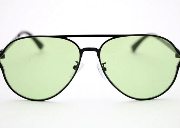 Óculos Aviador 16561 C1 (Lente translúcida verde)