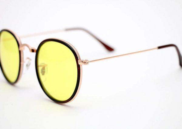 Óculos Solar 3448 C2 (Lente translúcida amarelo)